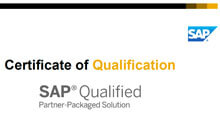 Renova Consulting, 'SAP Qualified Partner Packaged Solution' sertifikasını almaya hak kazandı!